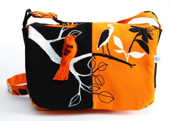 sac tissu oiseau IKEA face