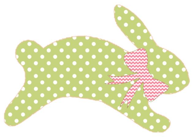 silhouette de lapin