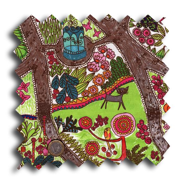 tissu jardin extraordinaire echatillon