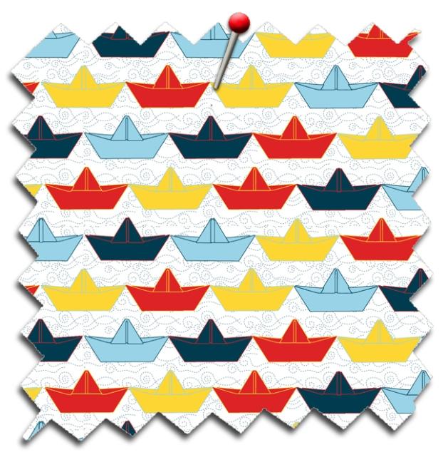 tissu paper boat echatillon