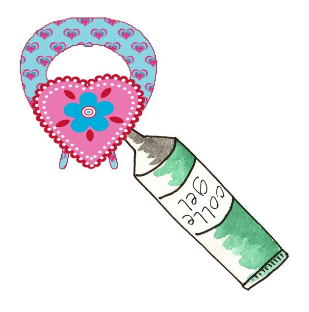 tuto ange st valentin en papier 3