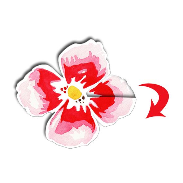 Couronne de fleurs en papier le tuto dans mon bocal - Tuto couronne de fleur ...