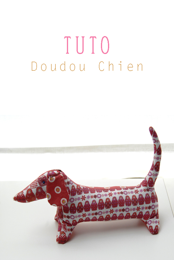 tuto doudou chien 1
