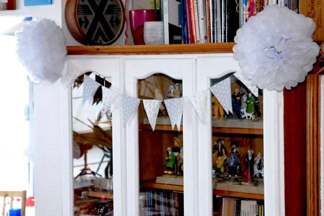 DIY guilande de fanion en papier 1