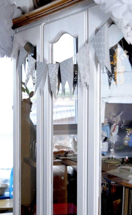 DIY guilande de fanion en papier 5