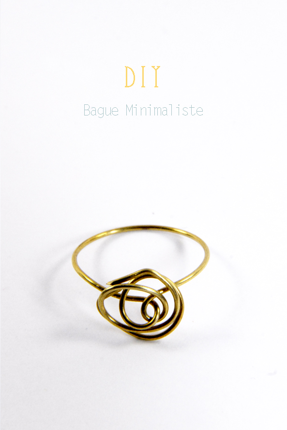 DIY minimalist ring 1