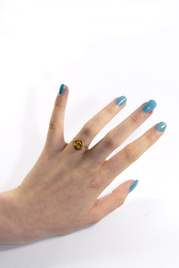 DIY minimalist ring 2