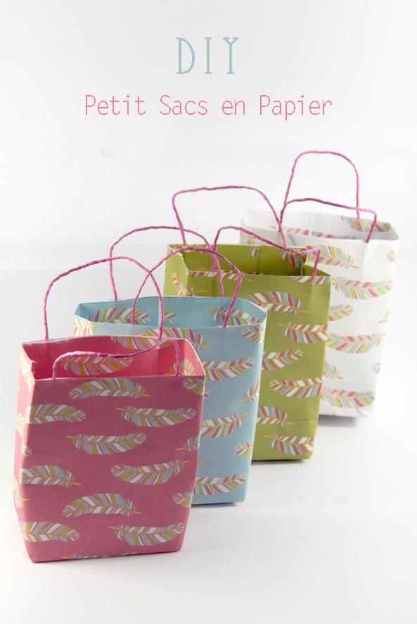 DIY paper bag petits sacs en papier