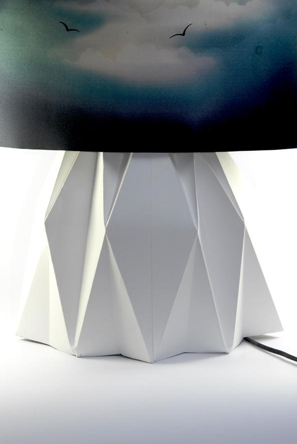 DIY paper lamp 3
