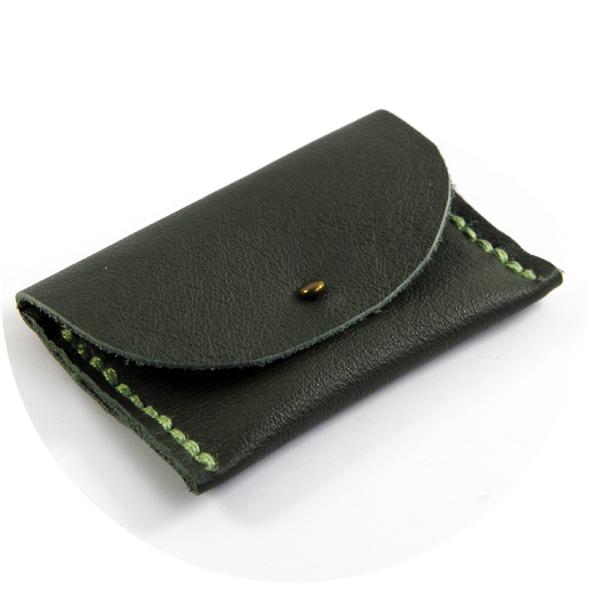 Diy porte monnaie en cuir