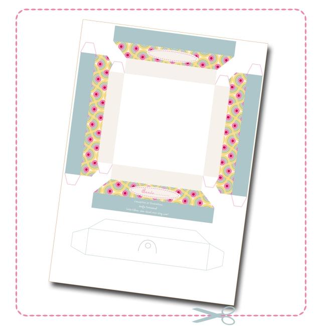 free printable cadre en papier 1