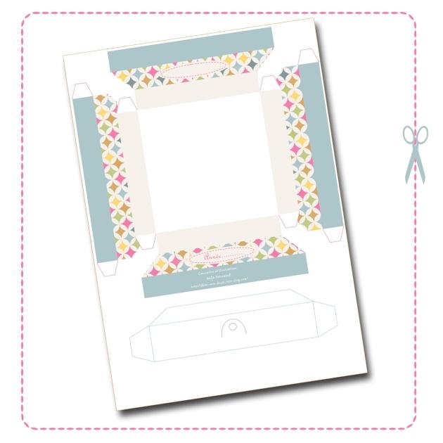 free printable cadre en papier 2