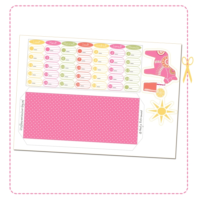free printable calendar date aout 2014