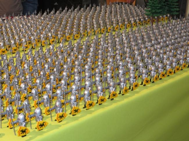 la bataille de Bouvine reconstituée en playmobil 10