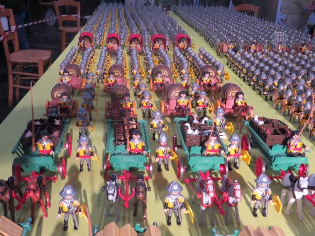 la bataille de Bouvine reconstituée en playmobil 2
