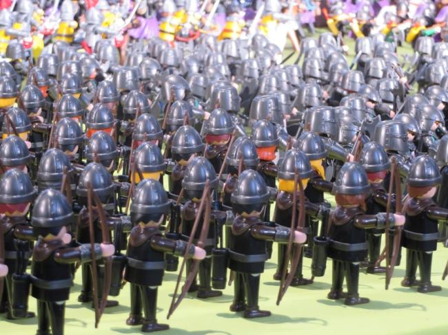 la bataille de Bouvine reconstituée en playmobil 4