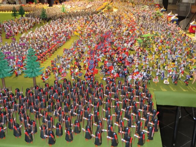 la bataille de Bouvine reconstituée en playmobil 7