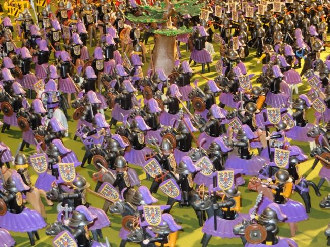 la bataille de Bouvine reconstituée en playmobil 8