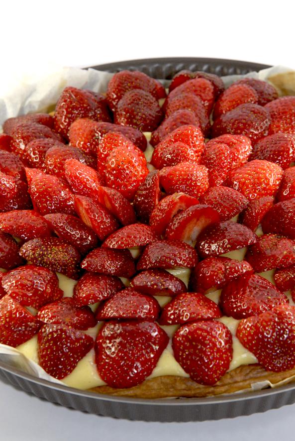 recette tarte au fraise 1
