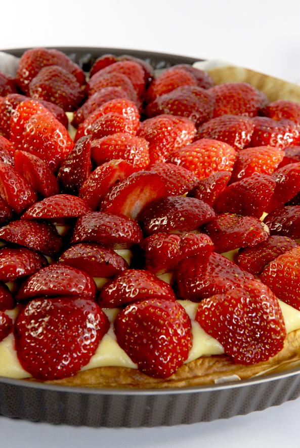recette tarte au fraise 2