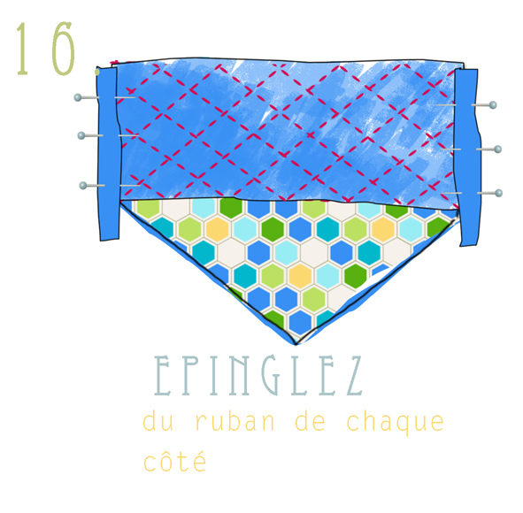 tuto fabric clutch 16
