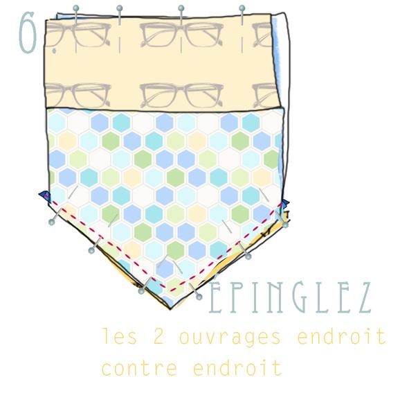tuto fabric clutch 6