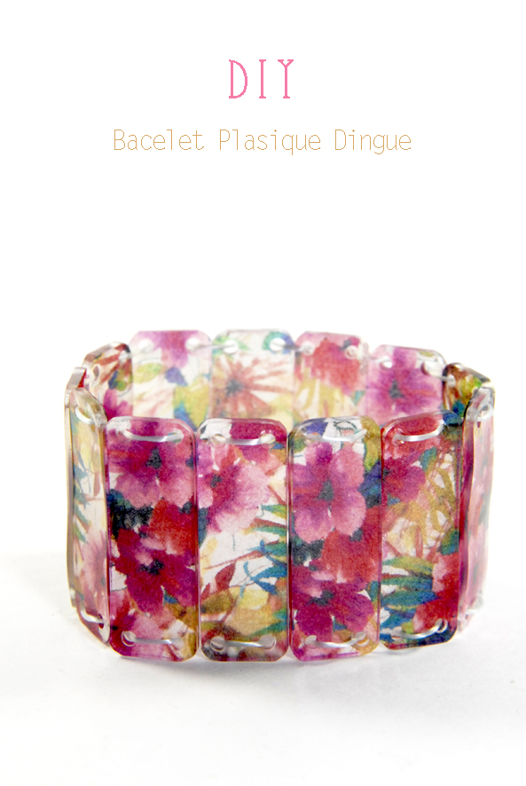 DIY bracelet plastique dingue 5
