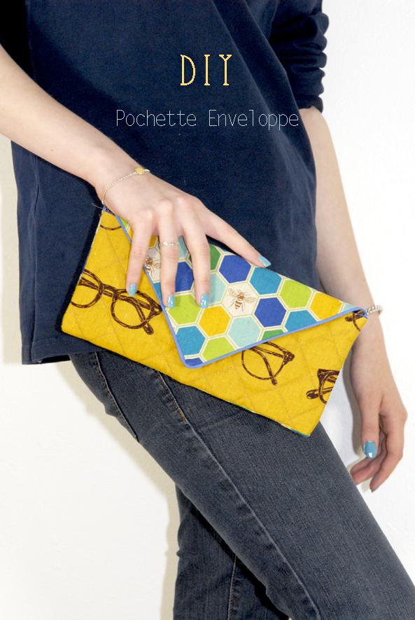 DIY fabric clutch 6