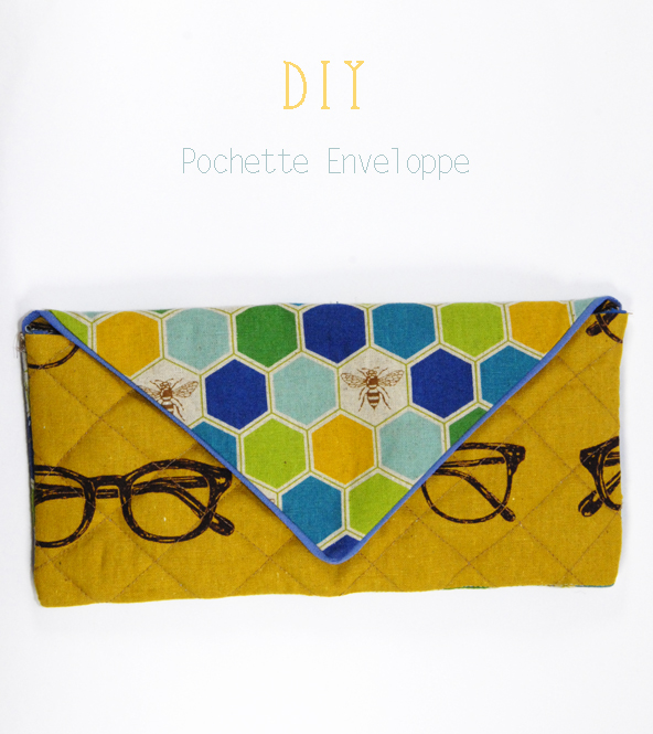 DIY fabric clutch 7
