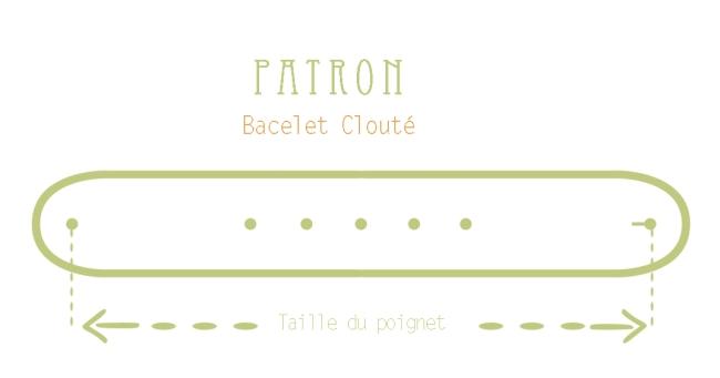 free printable pattern leather bracelet
