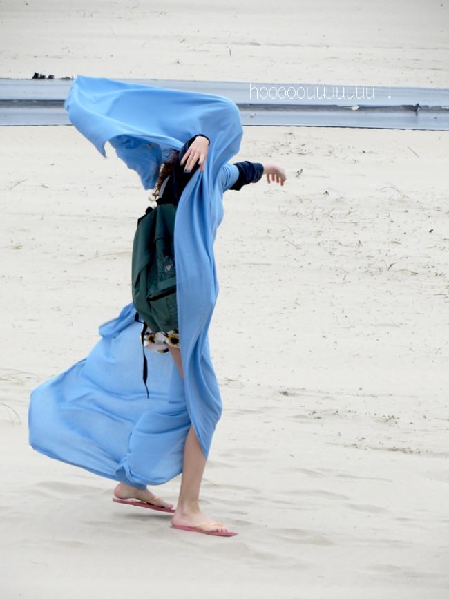 jour de vent à la plage de zuydcoote 4