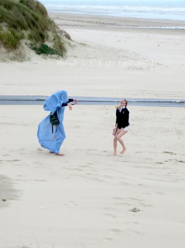 jour de vent à la plage de zuydcoote 5