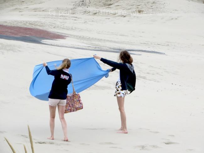 jour de vent à la plage de zuydcoote 7