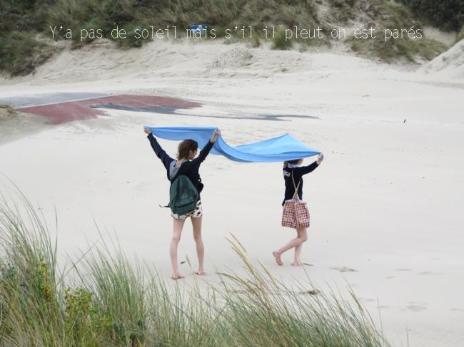 jour de vent à la plage de zuydcoote 8