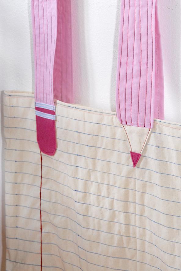 DIY tote bag note book 4