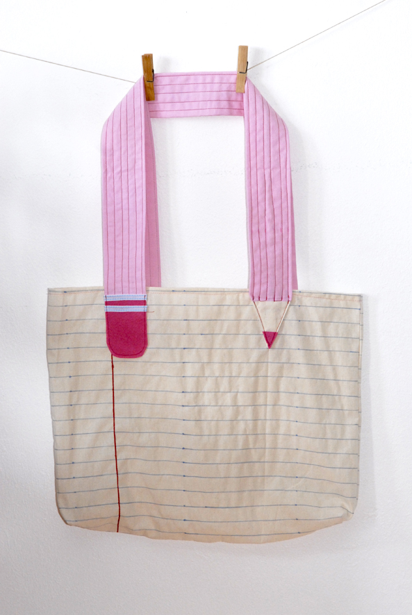 DIY tote bag note book 5