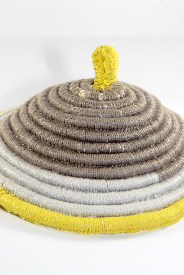 DIY chapeau à plats 2
