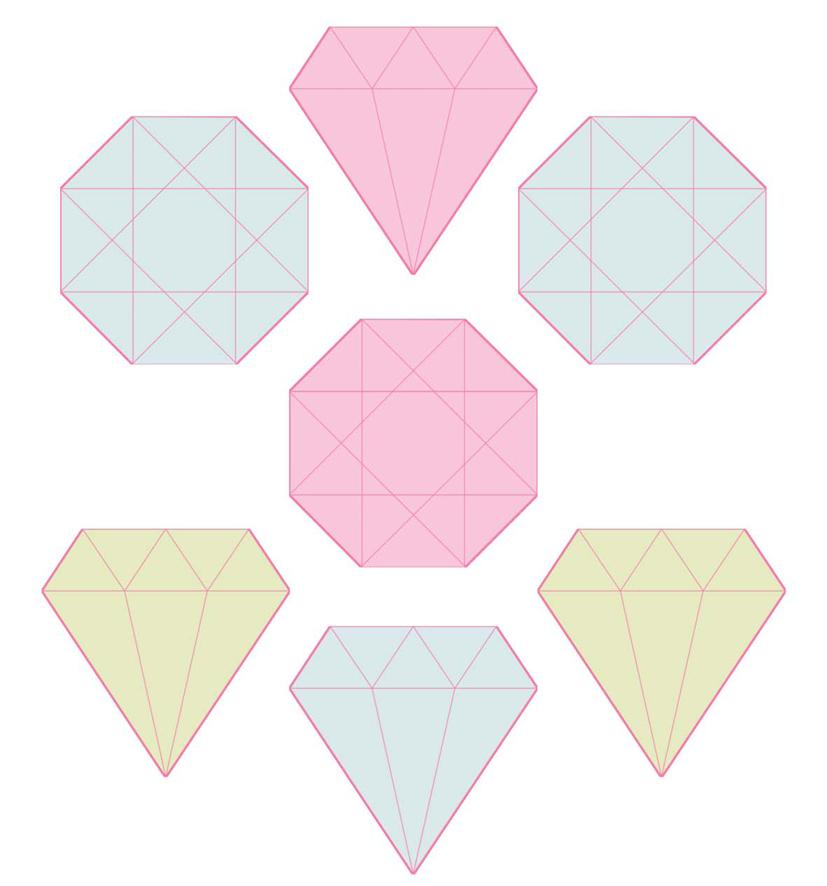 tuto comment faire des sous-verres diamantissimes | dans mon bocal