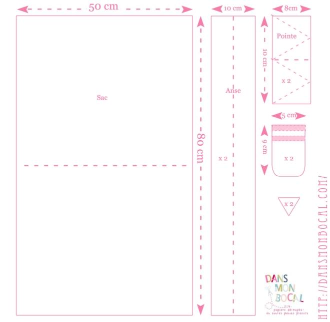 free printable tote bag pattern.psd