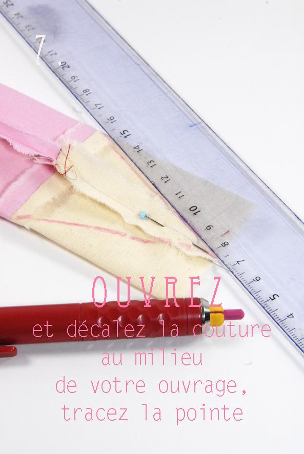tuto tote bag façon cahier crayon 6