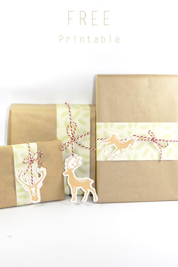free printable christmass paper wrap 3