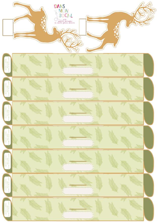 Les ronds de serviettes et les marque places c est fait dans mon bocal - Les ronds de serviette ...