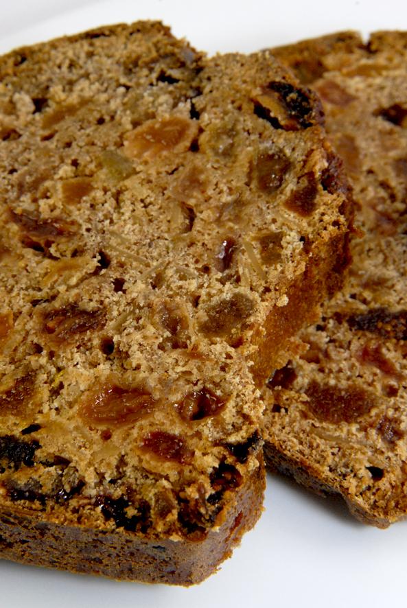 gâteau de voyage aux épice et fruits secs 2