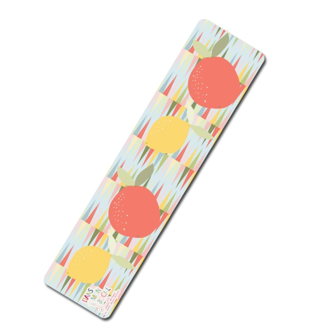 free printable bookmarker citrus