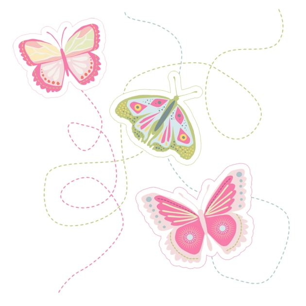 free printable buterfly tags