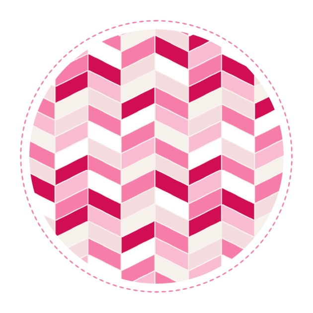 free printable chevron paper wrap