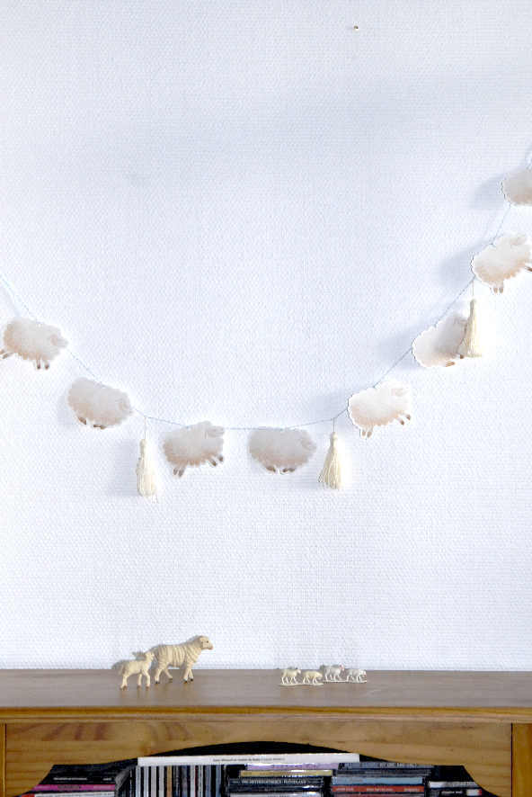 free printable guarland guirlande de moutons 3