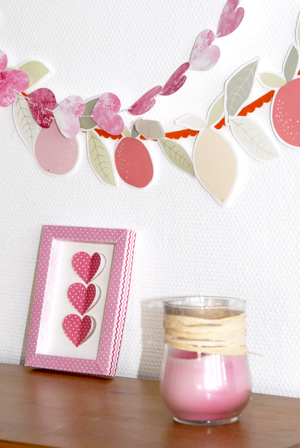 free printable heart garland 1