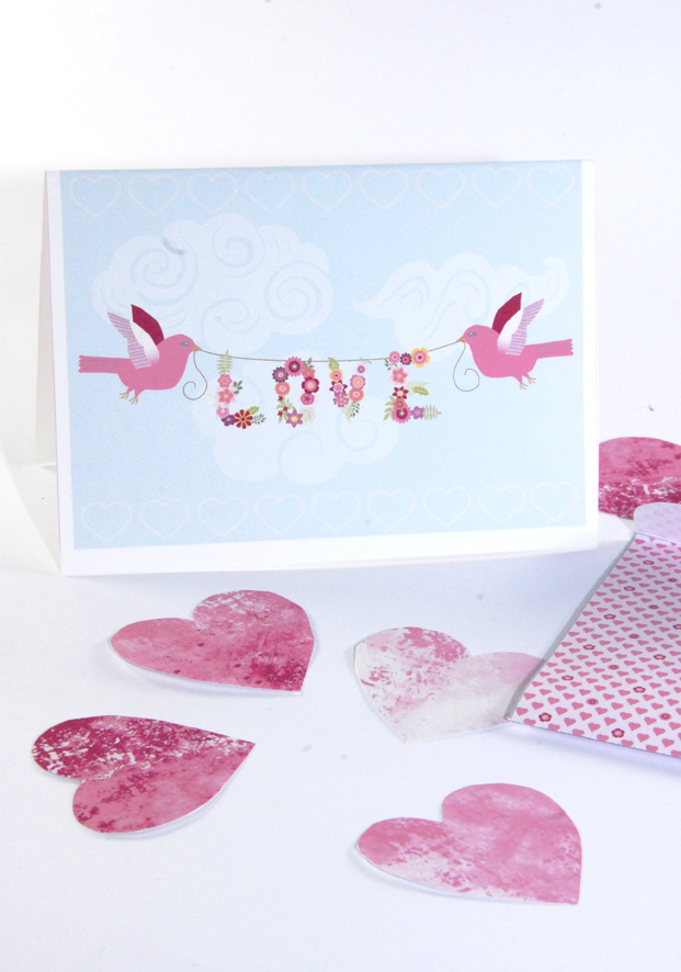 free printable valentine card and tag 1