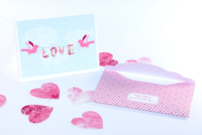 free printable valentine card and tag 2